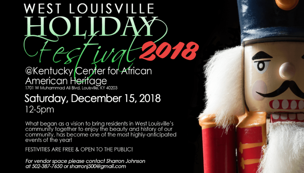 West Louisville holiday Festival 2018