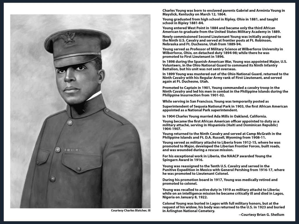 Colonel Charles Young  -  The Man, The Mission, The Facts