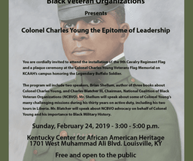 Charles Young Event Flyer