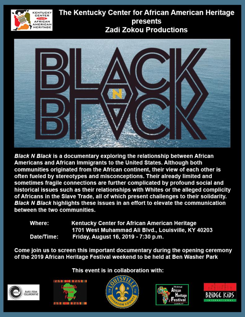 Black N Black flyer