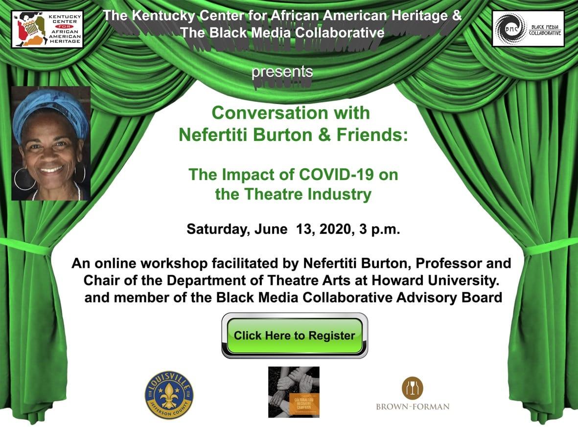 Conversations with Nefertiti Burton